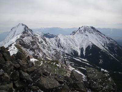 赤岳と阿弥陀