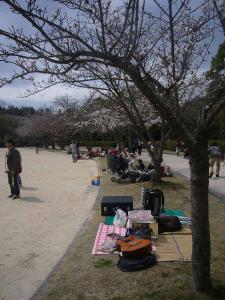 鏡山公園アコ練習20130331-4