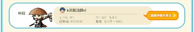 炎龍法師、2月10日のランキング、666.111