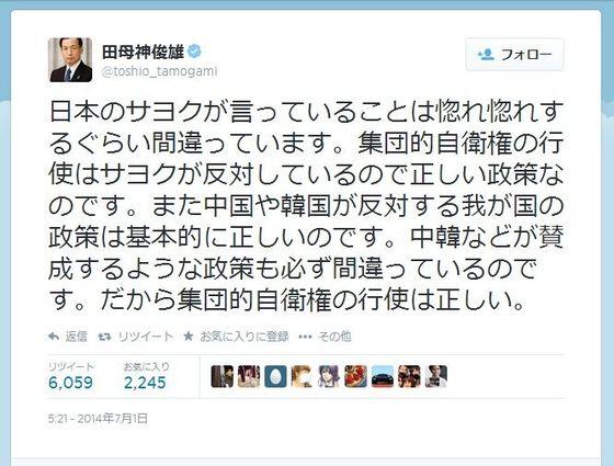 日本の左翼の言っていること