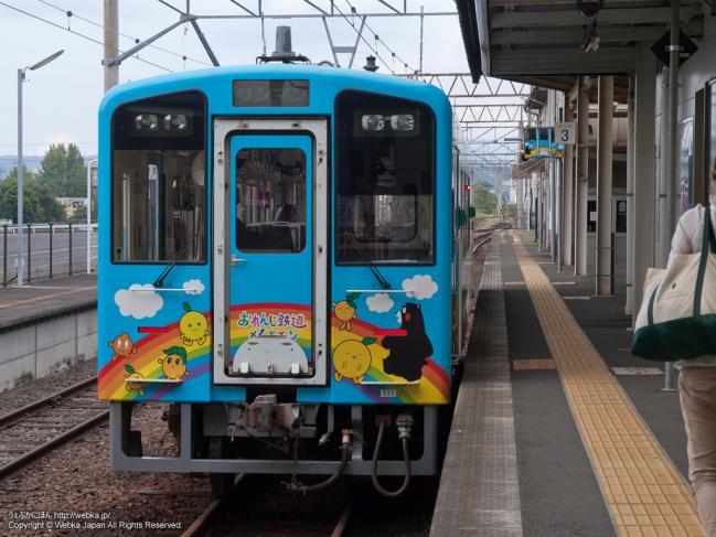 おれんじ鉄道×くまモンの列車