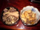 熊肉とムキタケのしぼり大根