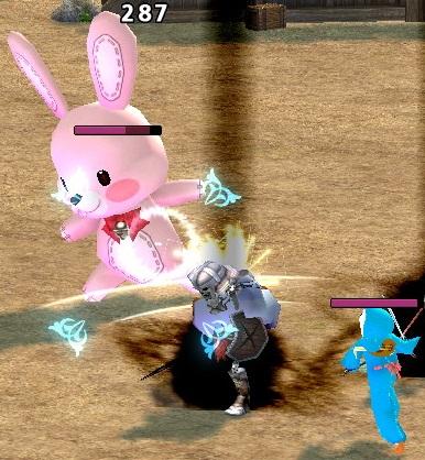 召還 ボス集結 ウサギのぬいぐるみ 2