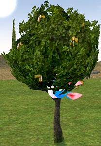 うさぎヘルメット 願い事の木 変身 3