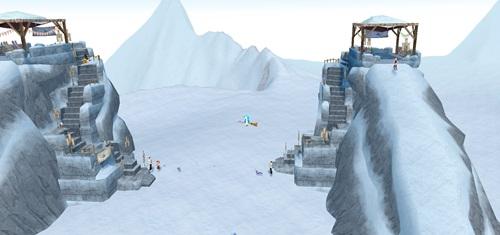 コース スキージャンプイベント2012 1
