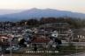 新幹線から安達太良山