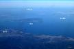 写真4:瀬戸内海と小豆島