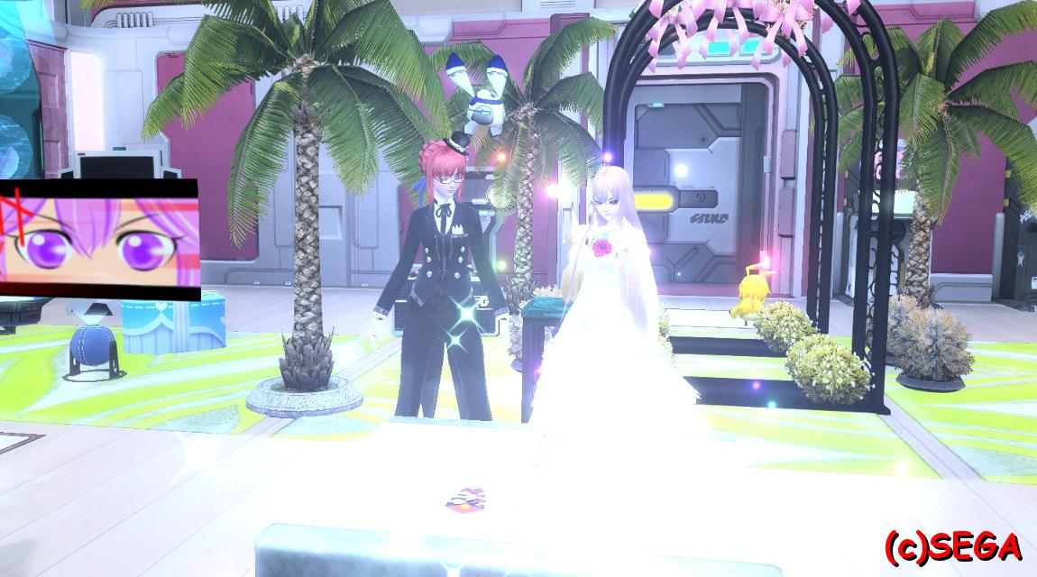 結婚式!?
