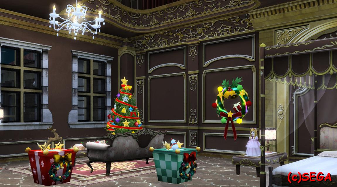 クリスマスなマイルーム
