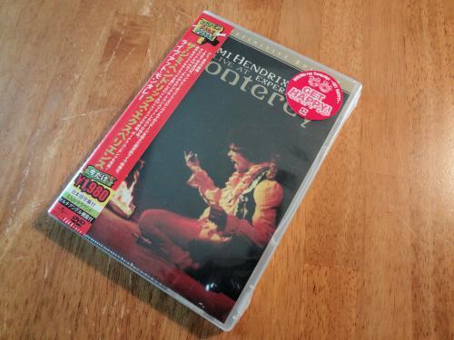 Jimi Hendrix / Live at Moterey