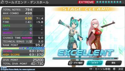 ワールズエンド(ry EXTREME