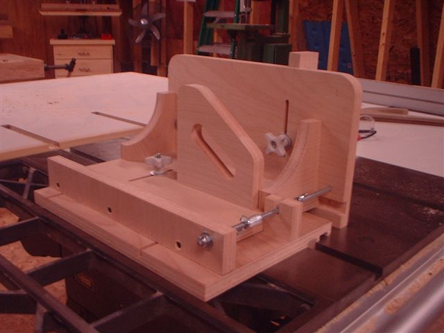 Wonderful DIY Woodworking Tenoning Jig Plans Plans Free