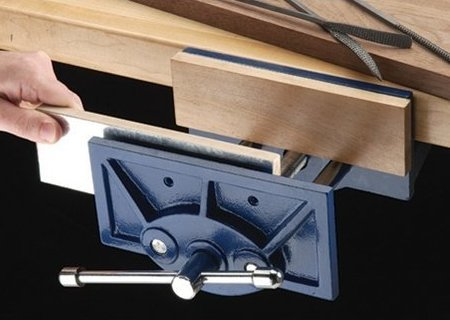 Woodworking vise kits