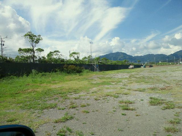 第57回焼津海上花火大会 観覧席の一部20120812