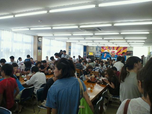 小川港魚河岸食堂内観201208121300