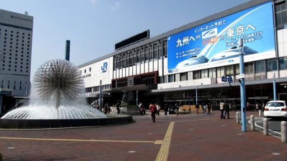岡山駅:東口側
