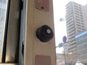 降車時に押すボタン