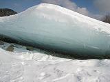タウシュベツ橋梁氷