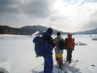糠平湖雪上相談