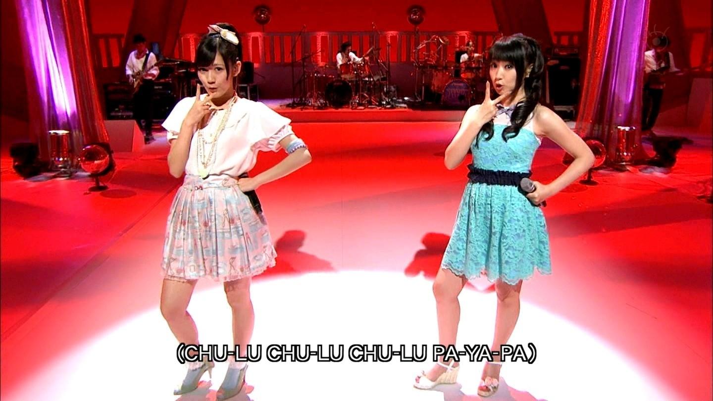 【動画あり】水樹奈々さんと渡辺麻友さんが『MUSIC FAIR』で「DISCOTHEQUE」をデュエット!