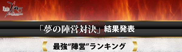 夢の陣営対決 『Fate/Zero』「最強陣営」ランキング発表! 切嗣人気すぎ