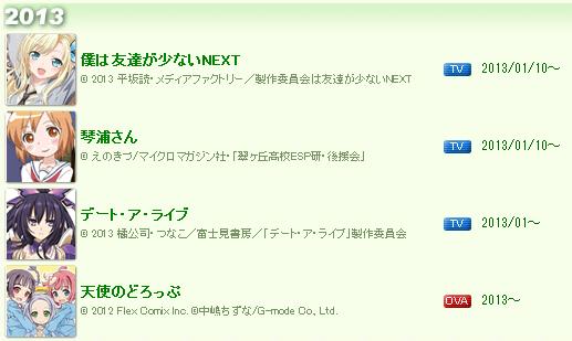 アニメ『デート・ア・ライブ』2013年4月より放送開始! PV ver1.2も公開