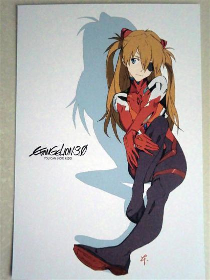 『ヱヴァンゲリヲン新劇場版:Q』シンジ&カヲルのポストカード配布! これは┌(┌ ^o^)┐