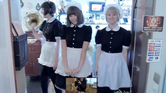 ロシア美女のメイドチームがレベル高すぎと話題に! 「3次元にもこんな美少女がいるのか」驚愕の声