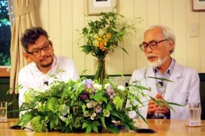 宮崎パヤオ監督、自分の作品を見て初めて泣く