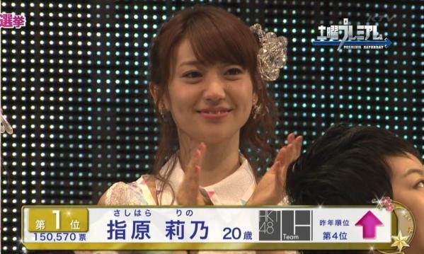 『AKB48総選挙』瞬間最高視聴率は驚異の32.7%という結果に