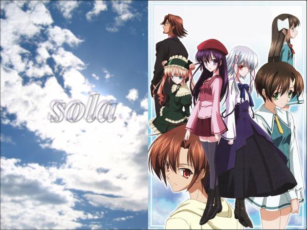 アニメ『sola』 TOKYO MXで7月5日24時30分より再放送決定!