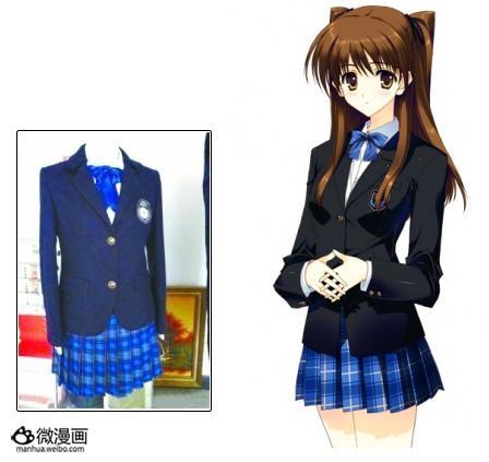中国の学校で新制服がエロゲそっくりだと話題に