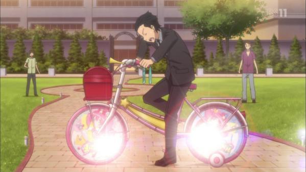 アニメ『俺の妹』光規制が入ったポル自転車がAT-Xでは解除される!