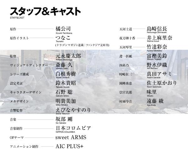『デート・ア・ライブ』2013年始動、スタッフ&キャスト公開!制作:AIC PLUS+