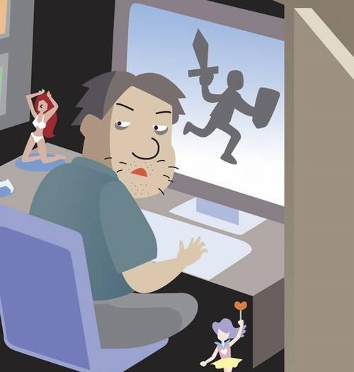 ネトゲにハマり仕事をしない息子に見かねた父が「ハンター」を雇ってゲームで集中攻撃