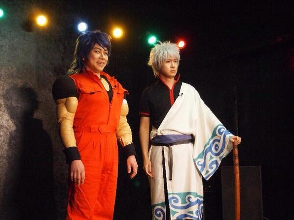 【画像ネタ】置鮎龍太郎さんと杉田智和さんがトリコと銀さんのコスプレwww   他