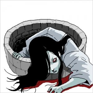 記憶スケッチ:貞子