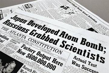 「日本が核実験に成功。ロシアが科学者を拘束」