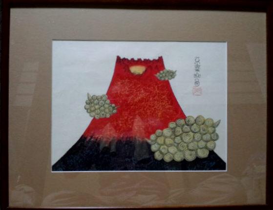 赤富士120929眠月
