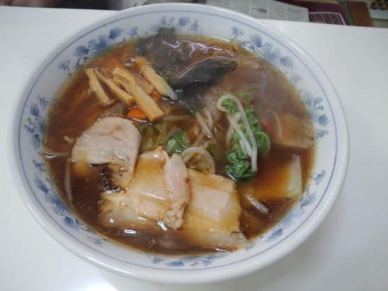 ごんすけ野菜らーめん130106