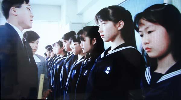 ぼくらの七日間戦争 服装検査 宮沢りえ セーラー服 女子中学生