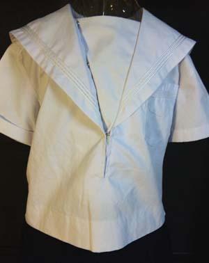 白襟 夏セーラー服 関西襟