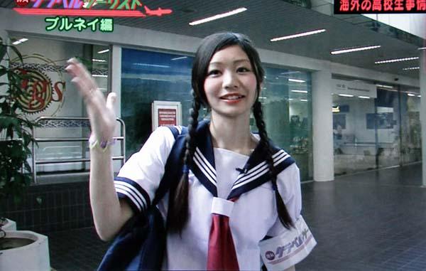 Rの法則 まゆちん 飯田麻由 セーラー服 女子高生