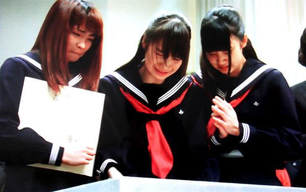おにいちゃんのハナビ セーラー服 冬服 女子高生