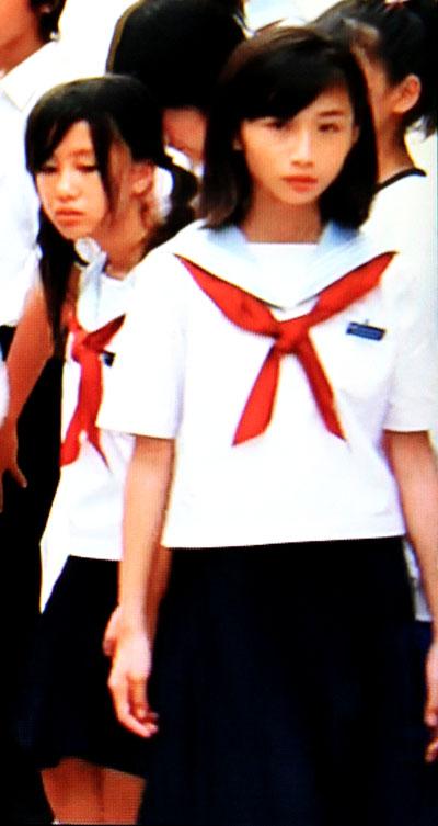 プリンセス トヨトミ セーラー服 女子中学生