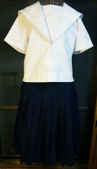 関西 白襟 セーラー服 夏服