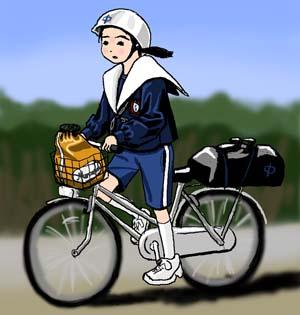 芋ヘルセラパン セラパン 愛知型セーラー服 愛セラ 芋セラ 名古屋襟 女子中学生 芋ヘルメット