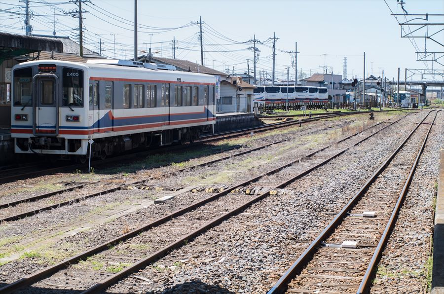 関東鉄道02下館駅03