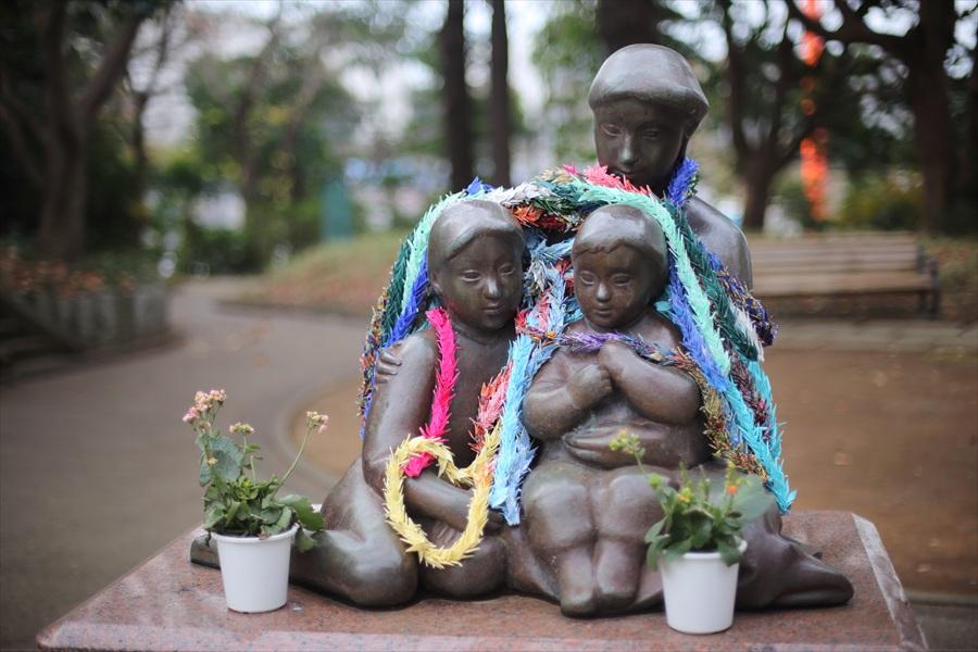 横浜50mm港の見える丘公園少女像