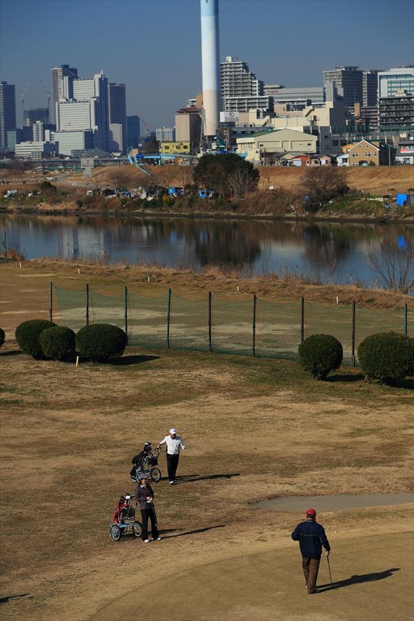 多摩川冬遊びゴルフ05